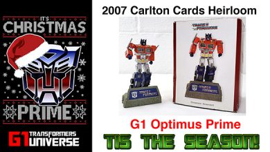 Photo of 2007 Carlton Cards G1 Transformers Optimus Prime Christmas Ornament