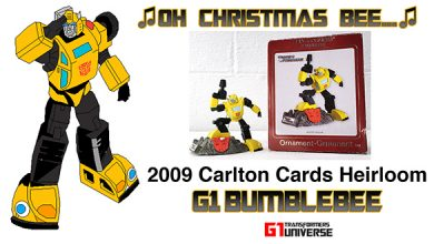 Photo of 2009 Carlton Cards G1 Transformers Bumblebee Christmas Ornament