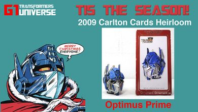 Photo of 2009 Carlton Cards G1 Transformers Optimus Prime Christmas Ornament