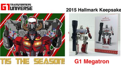 Photo of 2015 Hallmark G1 Transformers Megatron Christmas Ornament