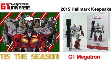 Photo of 2015 Hallmark G1 Transformers Megatron Christmas Ornament