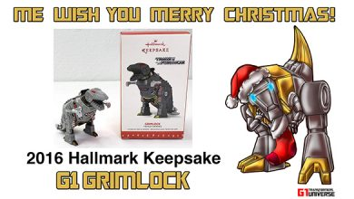 Photo of 2016 Hallmark G1 Transformers Grimlock Christmas Ornament