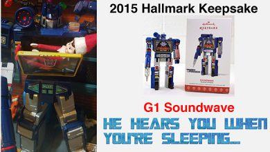 Photo of 2017 Hallmark G1 Transformers Soundwave Christmas Ornament