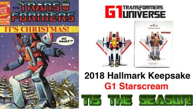 Photo of 2018 Hallmark G1 Transformers Starscream Christmas Ornament
