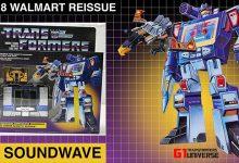 Photo of 2018 Walmart Reissue G1 Transformers Soundwave