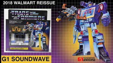Photo of 2018 Walmart Reissue G1 Transformers Soundwave