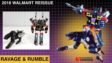 Photo of 2018 Walmart Reissue G1 Transformers Ravage – Rumble
