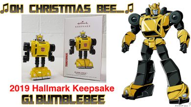 Photo of 2019 Hallmark G1 Transformers Bumblebee Christmas Ornament