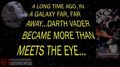 Photo of Star Wars Transformers Darth Vader Death Star Crossover